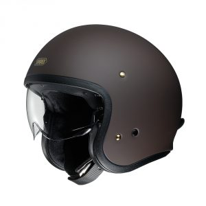 casque-shoei-j-o-marron