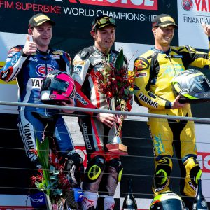 Phillip Island podium GP