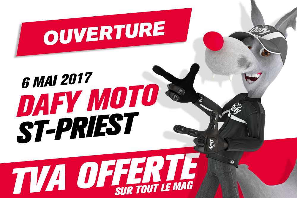 ouverture et inauguration dafy moto saint priest dafy the blog. Black Bedroom Furniture Sets. Home Design Ideas