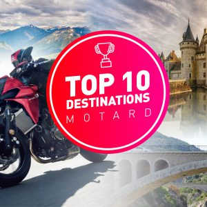Top 10 des destinations spéciales motards en France