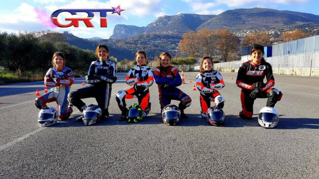 GRT Girls Racing Team Minimoto