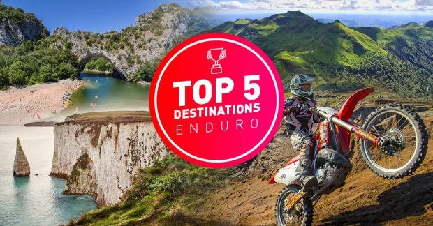 Top 5 destinations enduro en France