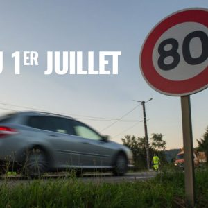 Limitation vitesse 80 km/h