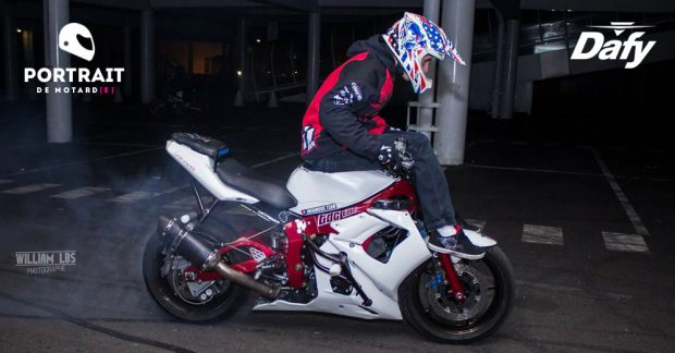 Portrait motard Lucky Stunt