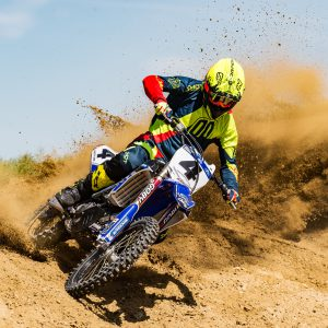 Motocross - portrait de motard