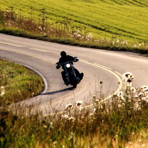 portrait de motard thierry