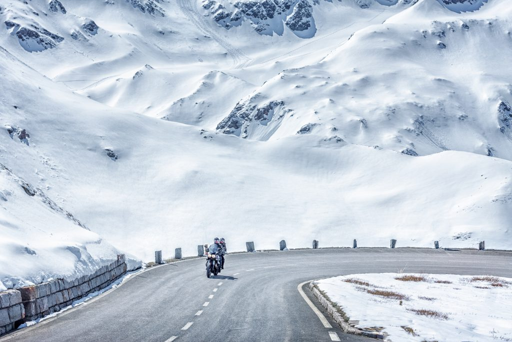 weekend neige moto